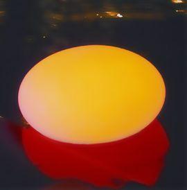 Afbeelding van Drijvende LED Zwembad Verlichting Peddle Stone