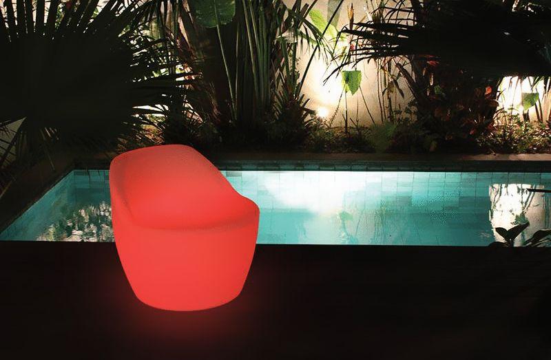 Afbeelding van Zwembad Sfeerverlichting Lichtgevende Stoel