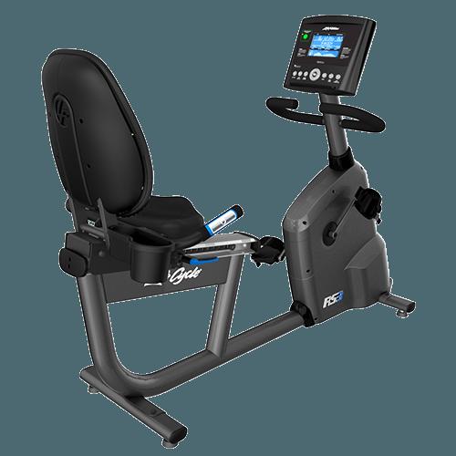 Afbeelding van Life Fitness Ligfiets RS1 met GO-console
