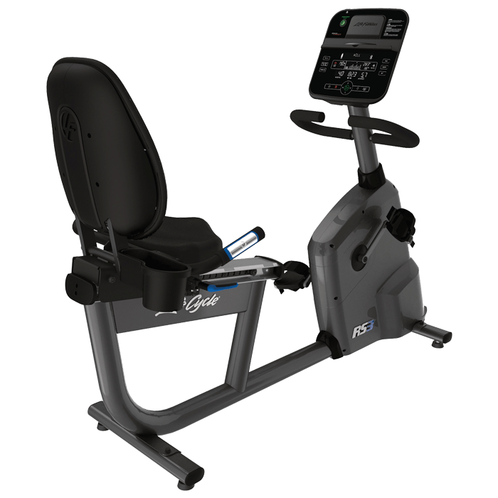 Afbeelding van Life Fitness Ligfiets RS3 met Track Connect Console