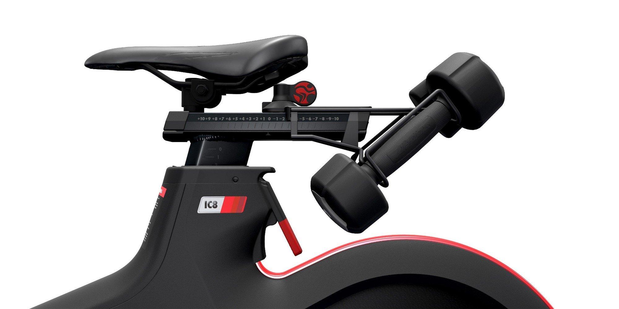 Afbeelding van Life Fitness dumbbell houder IC4, IC5, IC6, IC7 en IC8