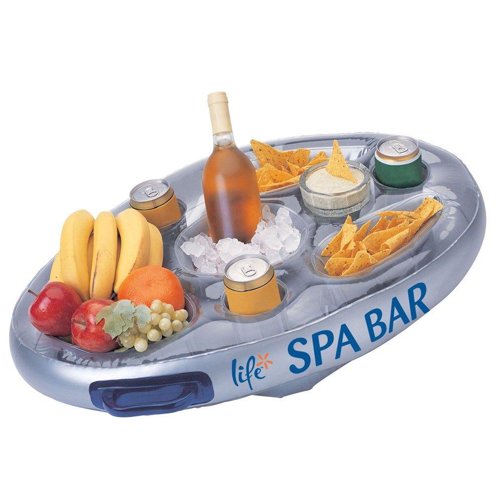Afbeelding van Spa Life, drijvende Spa bar voor Jacuzzi