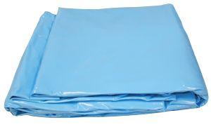Afbeelding van Zwembad liner ovaal 1000x500x150cm blauw - Aanbieding!