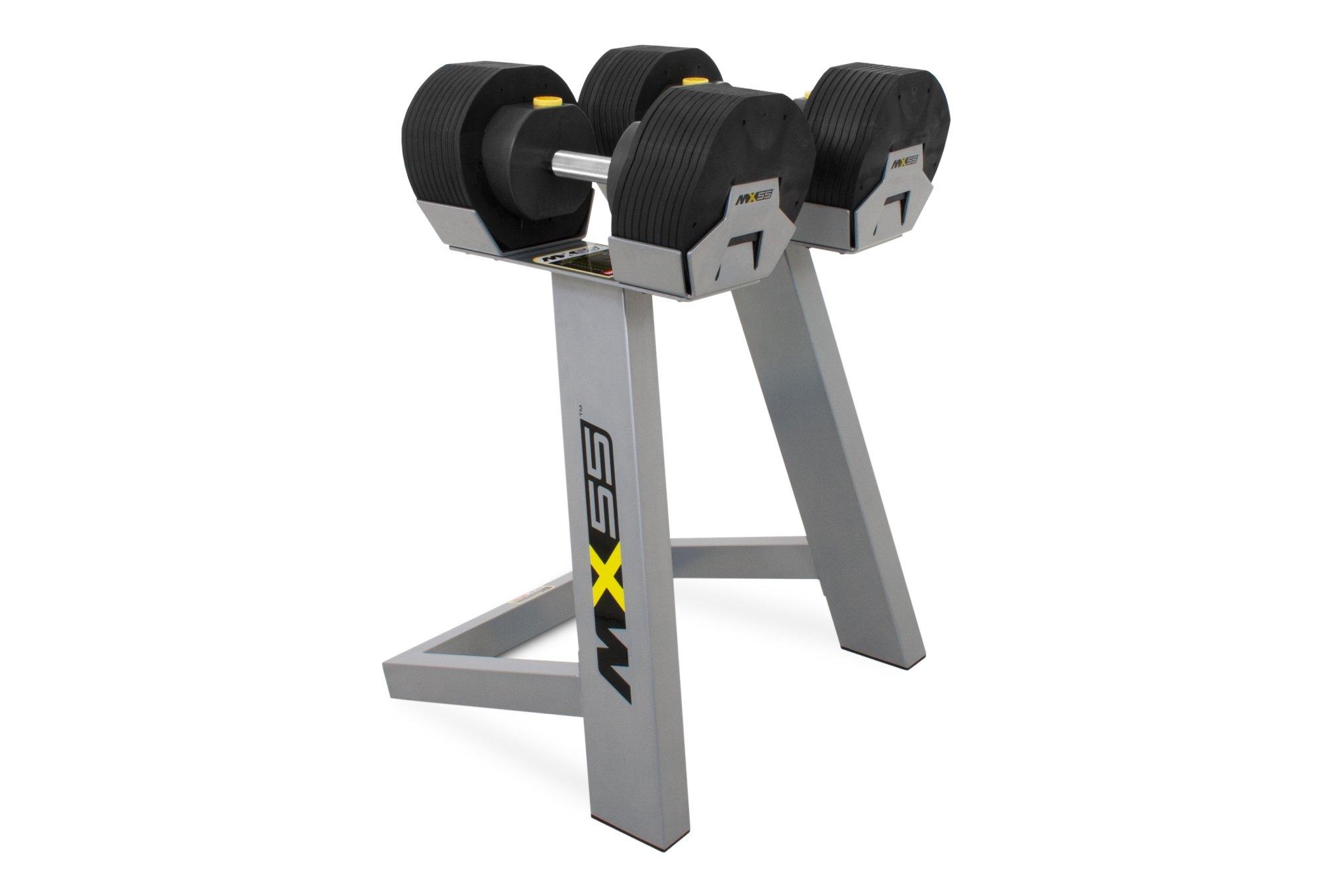 Afbeelding van MX-Select MX-55 verstelbare dumbbell set (25 kg - 2 stuks)