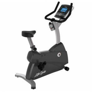 Life Fitness Upright Lifecycle Hometrainer C1 met GO-console