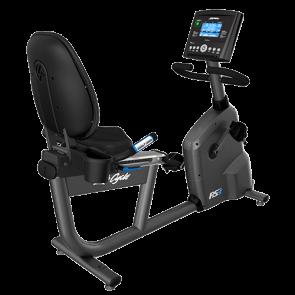 Life Fitness Ligfiets RS1 met GO-console - Gebruikt