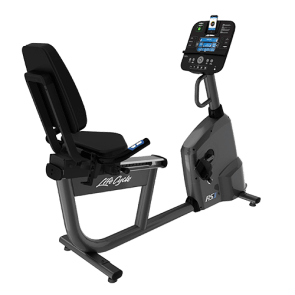 Life Fitness Ligfiets RS1 met Track+ Console - Gebruikt