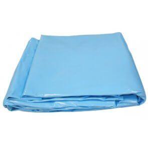 Zwembad liner ovaal 1000x500x150cm blauw - Aanbieding!