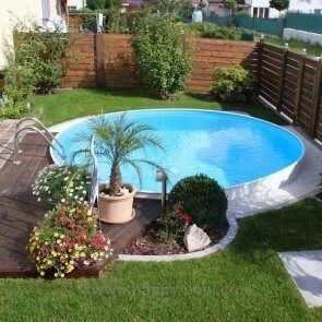 Rond stalen inbouw zwembad kopen bestel online rhodos for Stalen zwembad inbouwen