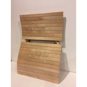 Sauna Rugsteun verstelbaar Ergonomisch Hemlock