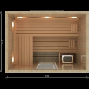 VSB Finse Sauna, Vitality  210 x 175 DEMO