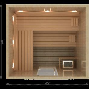 VSB Finse Sauna, Vitality  210 x 190
