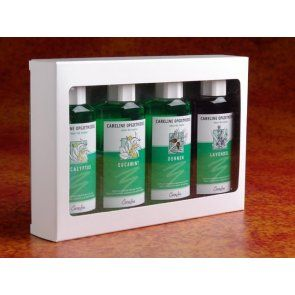 Saunageur Careline Cadeauset 4 x 100 ml
