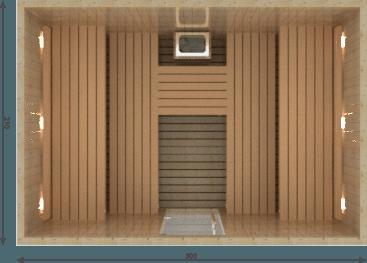 Afbeelding van VSB Finse Sauna, Royal 300 x 210