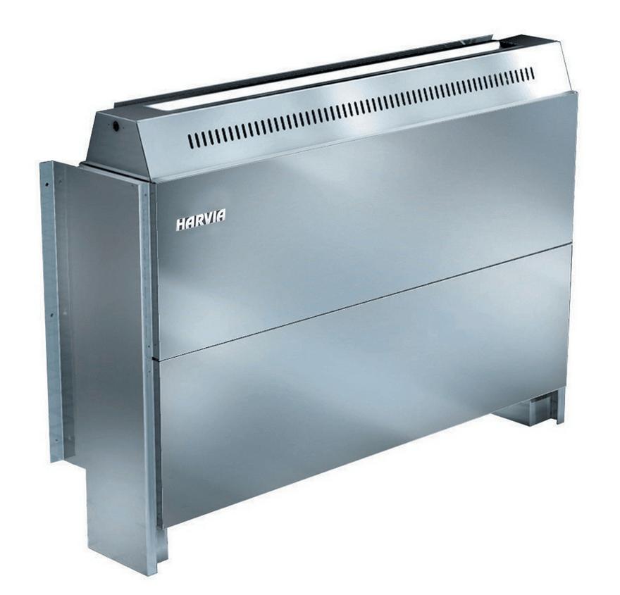Afbeelding van Harvia achterwand Profi oven excl. besturing 9 kW, demo
