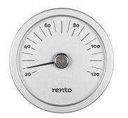 Afbeelding van Rento sauna thermometer (zilver)