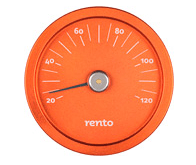 Afbeelding van Rento sauna thermometer (oranje)