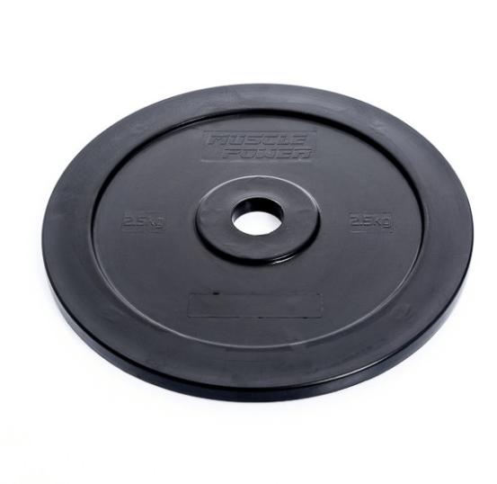 Afbeelding van Muscle-Power MP801 kunststof technique plate - 2.5 kg