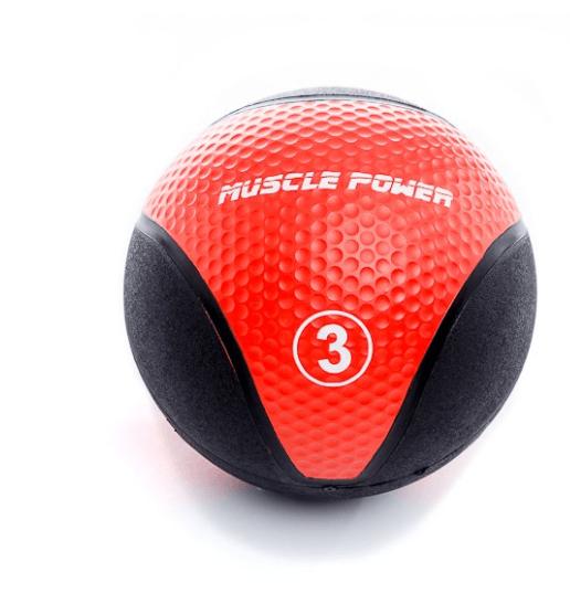 Afbeelding van Muscle-Power MP1005 medicijnbal- 3 tot 9 kg