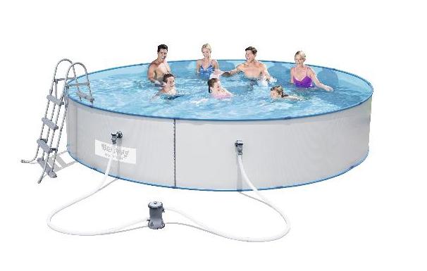 Afbeelding van Gre Herm stalen zwembad (330 x 84cm)