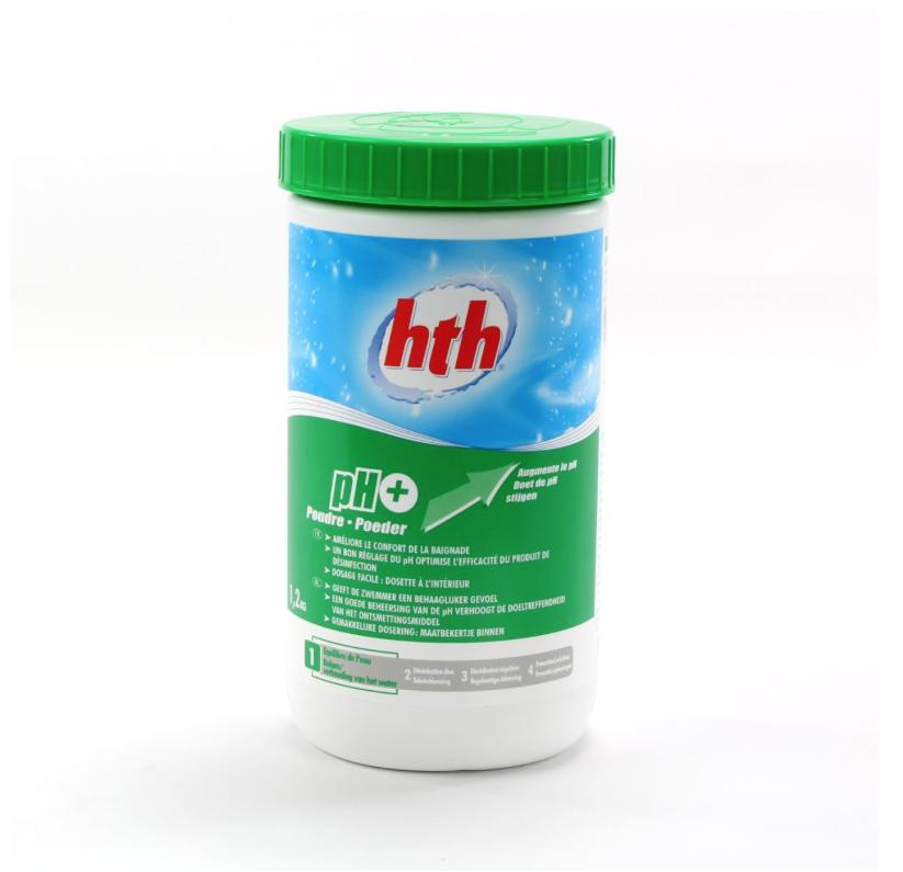 Afbeelding van HTH pH+ poeder 1,2 kg