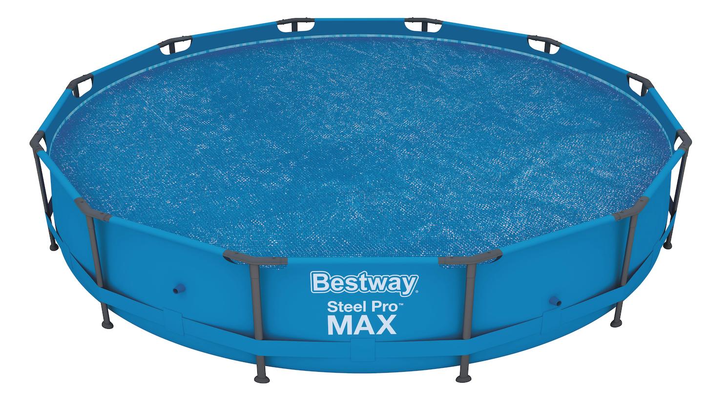 Afbeelding van Bestway zomerzeil - 427 & 457 cm - Fast Set & Frame zwembad
