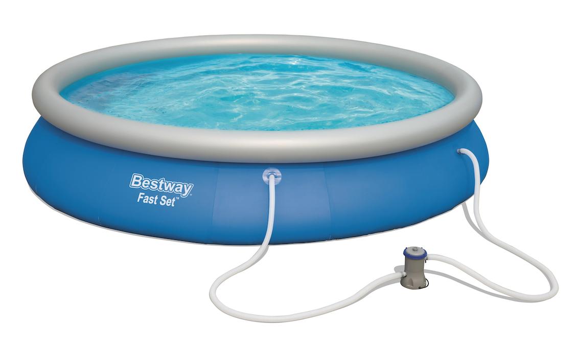 Afbeelding van Bestway Fast Set zwembad - 457 x 84 cm