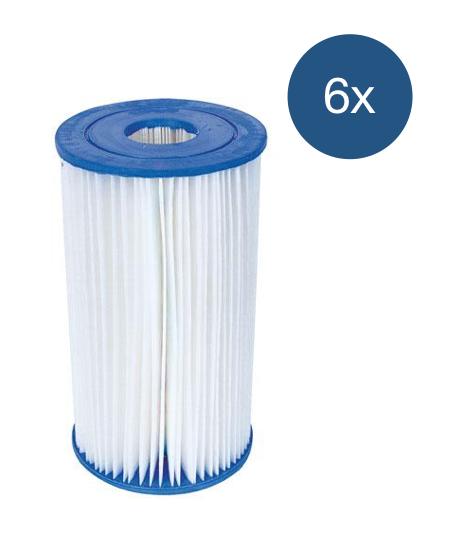 Afbeelding van Bestway Filter Type 3 - voordeelverpakking (6 stuks)