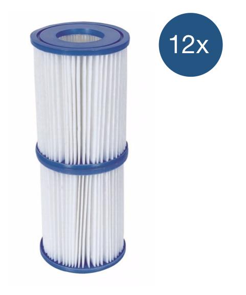 Afbeelding van Bestway Filter Type 2 - voordeelverpakking (12 stuks)