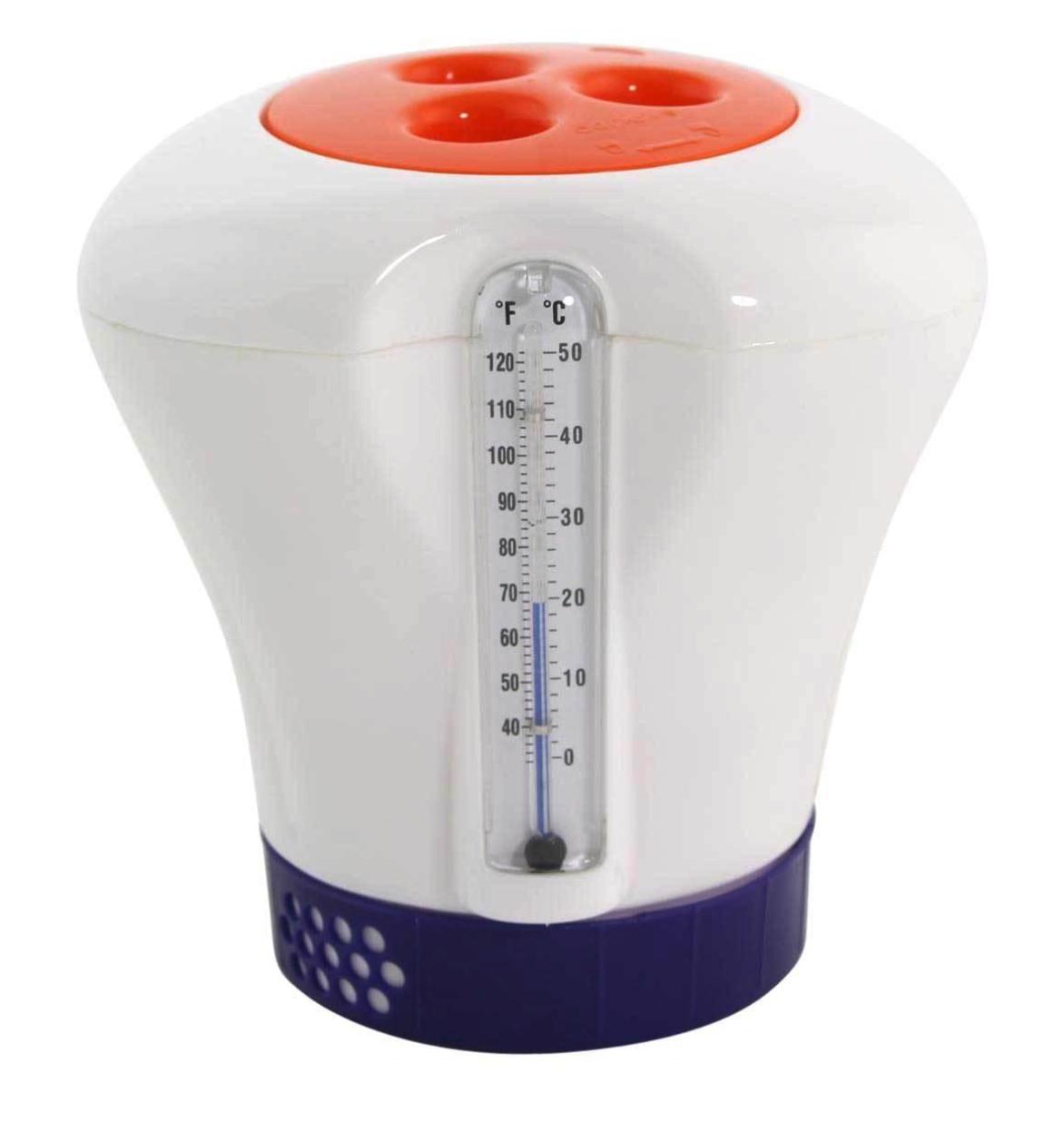 Afbeelding van Chloordrijver met thermometer