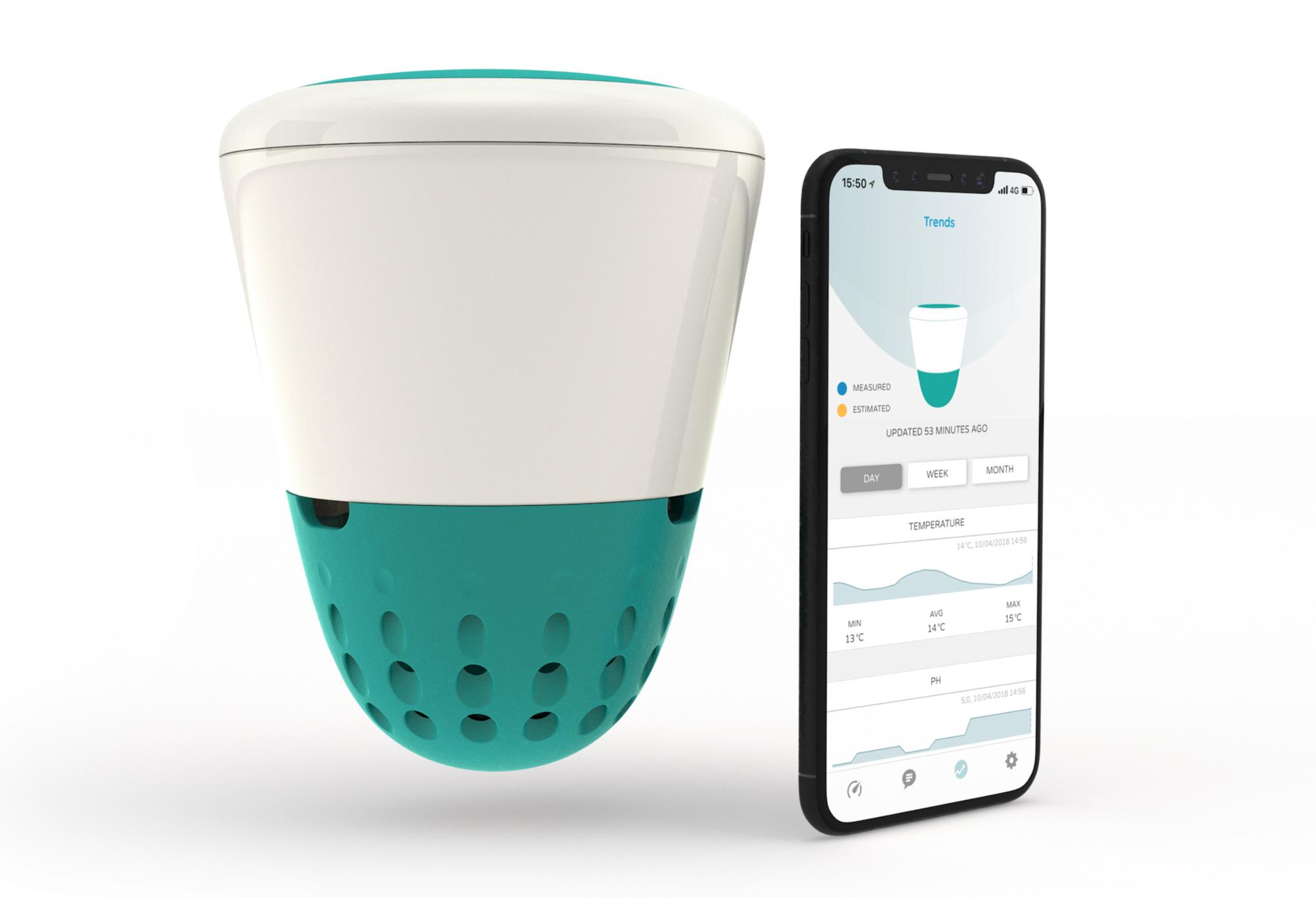 Afbeelding van ICO drijvende watertester (met app)