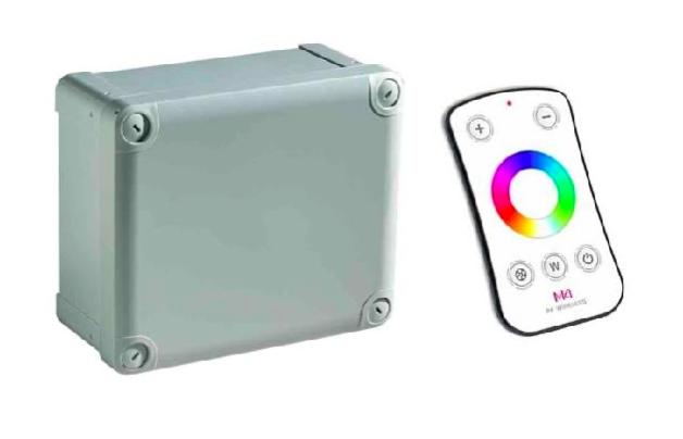 Afbeelding van RGBW LED Controller met afstandsbediening (150W | 24V)