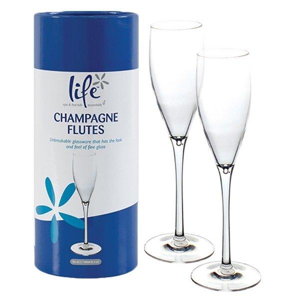Afbeelding van Spa Life Champagne Glazen