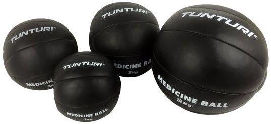 Afbeelding van Tunturi Medicine Ball Zwart 1 kg