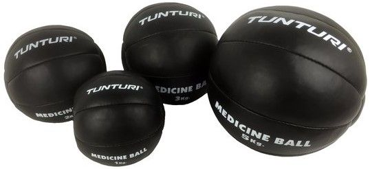 Afbeelding van Tunturi Medicine Ball Zwart 2 kg