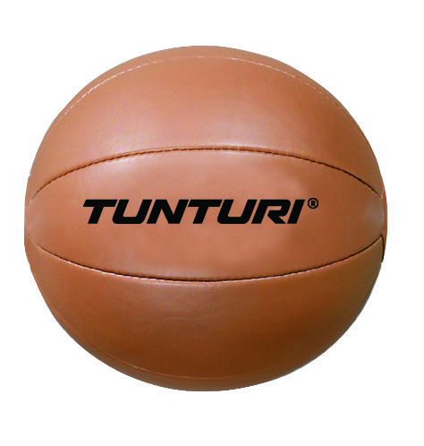 Afbeelding van Tunturi Medicine Ball Bruin 5 kg