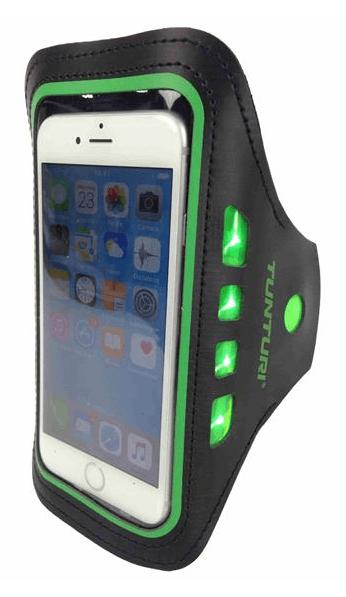 Afbeelding van Tunturi LED Smartphone drager | Groen