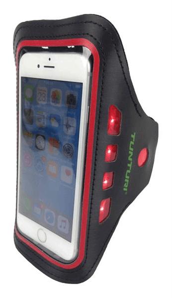 Afbeelding van Tunturi LED Smartphone drager | Rood