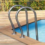 Aluminium zwembadtrap cerland