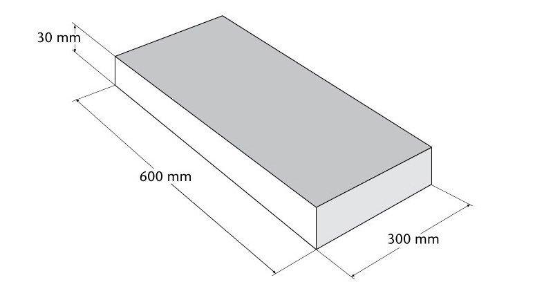 Natura - straatsteen 60 x 30 cm